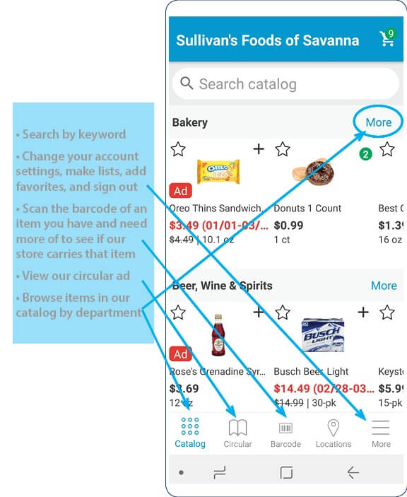 Grocery App Process 4