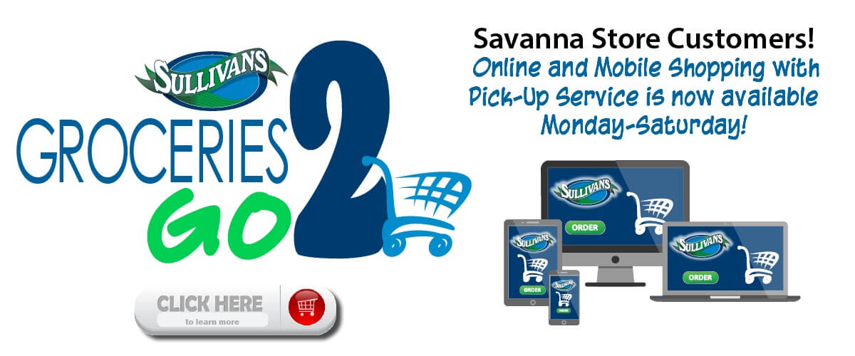 Savanna Online Shopping with Pick-Up