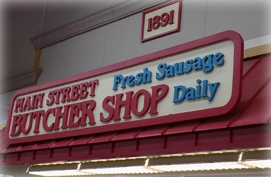 Butcher-shop