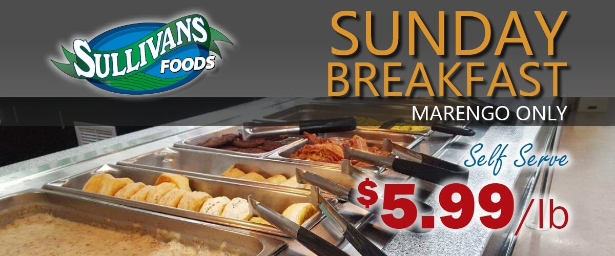 Sullivan's Foods Marengo Breakfast