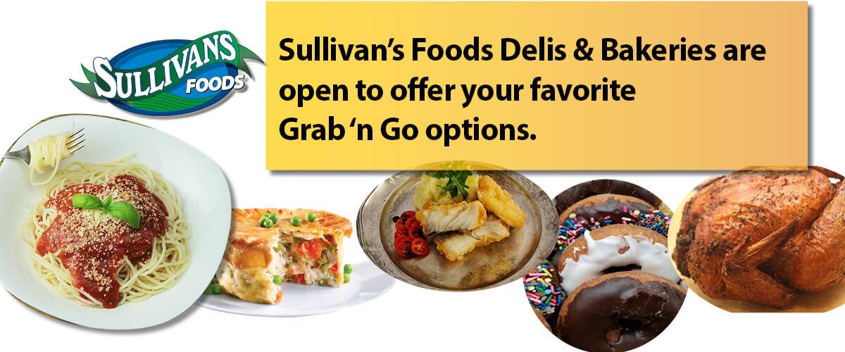 Sullivan's Foods Deli Bakery Open