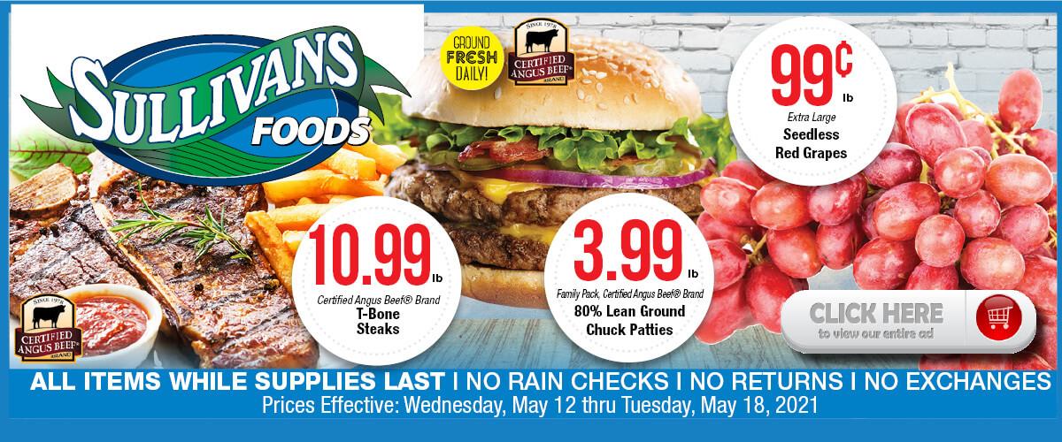 Sullivan's Foods weekly ad May 12-18, 2021