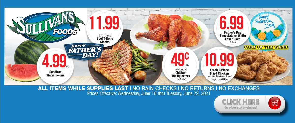 Sullivan's Foods weekly ad